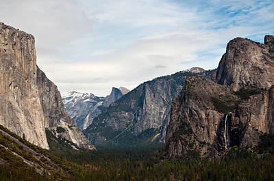 Tunnel View Yosemite Art Print by Michael  Ayers