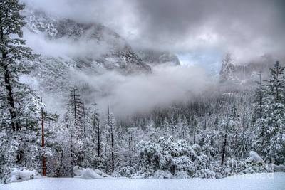 Photograph - Tunnel View Yosemite National Park Ansel Adams by Wayne Moran