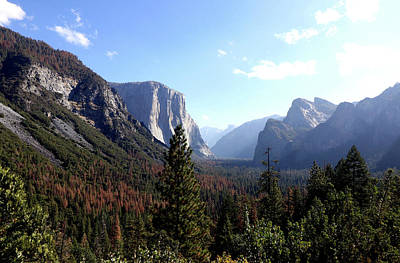 Photograph - Tunnel View Yosemite Park by Mercedes Martishius