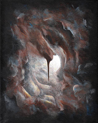 Painting - Tunnel Vision 02 - Keyhole by Joe Burgess