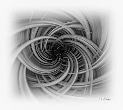 Digital Art - Tunnel Vision by Bill Posner