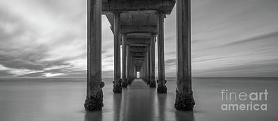 Photograph - Tunnel Vision Bw  by Michael Ver Sprill