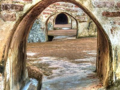 Tunnel Vision Art Print by Michael Garyet