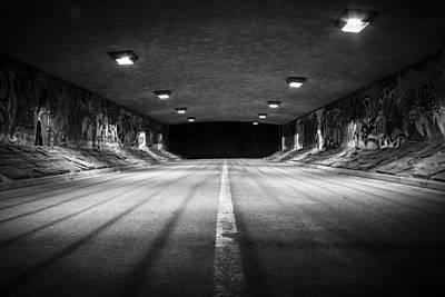 Photograph - Tunnel With Attitude by Stewart Scott