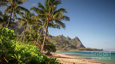 Photograph - Tunnels Beach Haena Kauai Hawaii Bali Hai by Dustin K Ryan