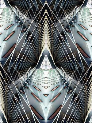 Walkway Digital Art - Tunnels End by Tim Allen