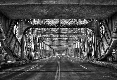 Photograph - Tunnelvision Chief John Ross Bridge Chattanooga Tn Art by Reid Callaway