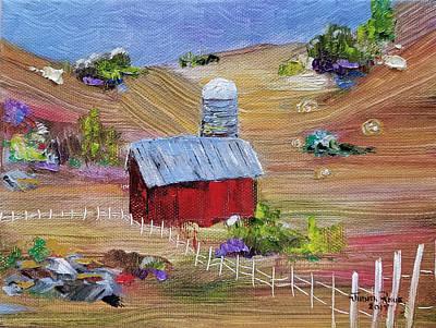 Painting - Tunkhannock Farm by Judith Rhue