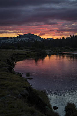 Photograph - Tuolumne Meadows River Sunset by Duncan Selby