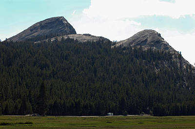 National Park Photograph - Tuolumne Meadows Tree Lined Mountain Of Yosemite by LeeAnn McLaneGoetz McLaneGoetzStudioLLCcom