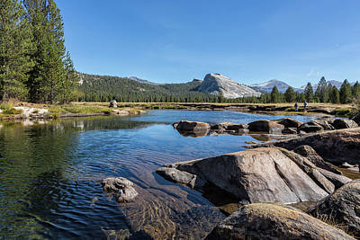 Photograph - Tuolumne River And Meadows, No. 1 by Belinda Greb