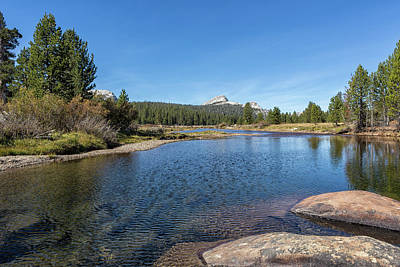 Photograph - Tuolumne River And Meadows, No. 2 by Belinda Greb