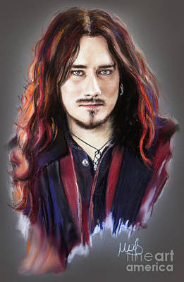 Gothic Mixed Media - Tuomas Holopainen by Melanie D