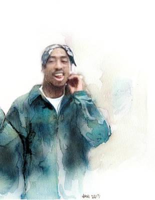 Tupac 19 Art Print