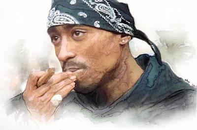 Tupac 20 Art Print