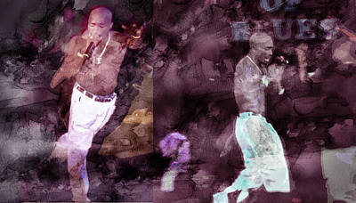 Tupac 41420632063 Art Print