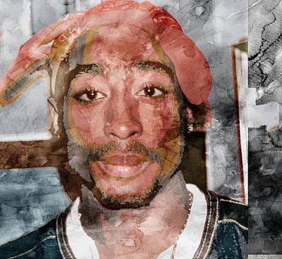 Tupac 85742355 Art Print