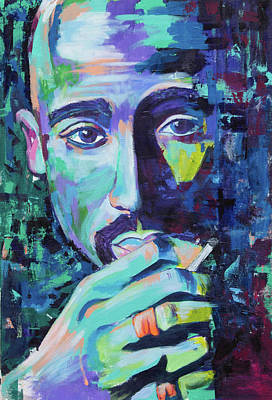 Painting - Tupac by Janice Westfall