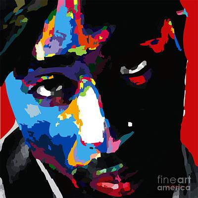 Tupac Shakur Art Print