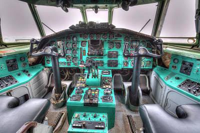 Photograph - Tupolev Tu-154 Cockpit by David Pyatt