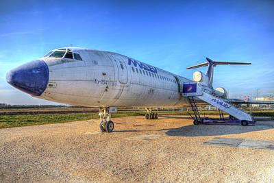 Photograph - Tupolev Tu-154 by David Pyatt
