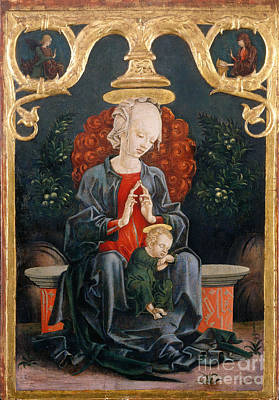 Painting - Tura, Madonna And Child by Granger