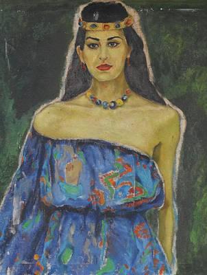 Turbaned Girl Original