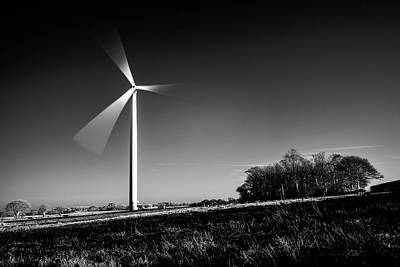 Photograph - Turbine by Will Gudgeon