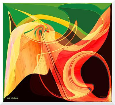 Digital Art - Turbo by Iris Gelbart