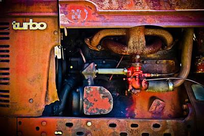 Turbo Tractor Art Print