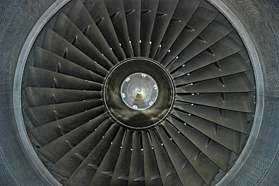 Photograph - Turbofan by John Schneider