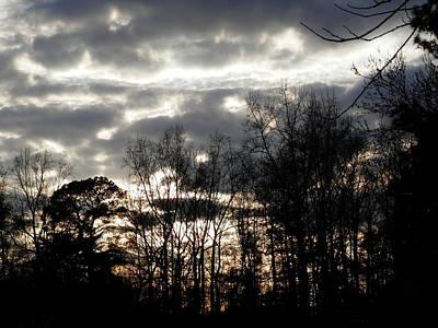 Photograph - Turbulence Coming Georgia Sky by Belinda Lee