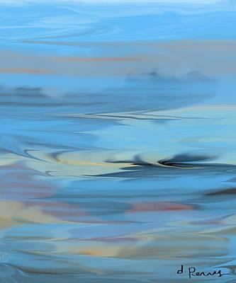 Turbulence Art Print by D Perry