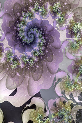 Fractal Geometry Digital Art - Turbulent Dreams by David April