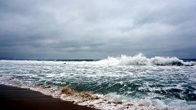 Photograph - Turbulent Ocean by Laurie Pike