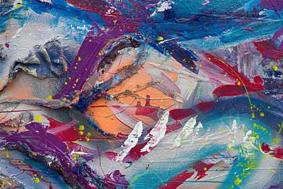 Painting - Turbulent Serenity by Natosha Keefer