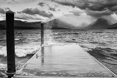 Lake Photograph - Turbulent Waters by Ansel Siegenthaler