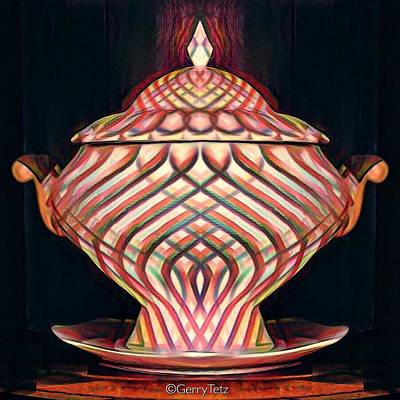 Photograph - Tureen by Gerry Tetz