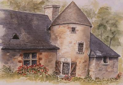 Art Print featuring the painting Turenne  by Mary Ellen Mueller Legault