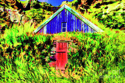 Digital Art - Turf Farm by Rick Bragan