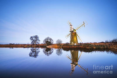 Turf Fen Mill Art Print by Svetlana Sewell
