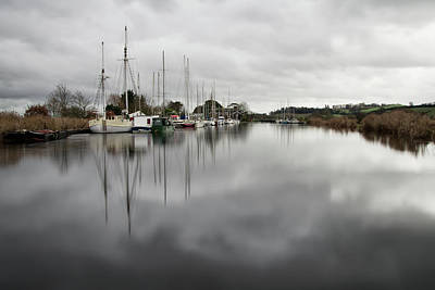 Photograph - Turf Locks On Exeter Canal by Pete Hemington