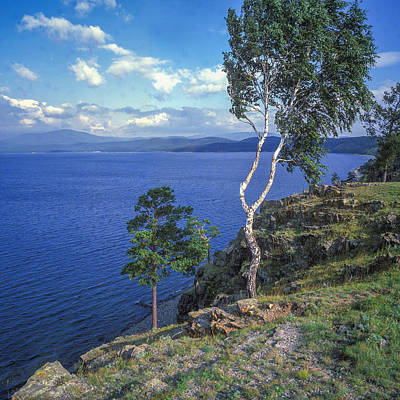 Photograph - Turgoyak Lake by Vladimir Kholostykh