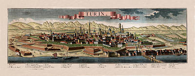 Turin 1745 Art Print