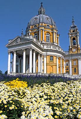 Turin - Superga Church Art Print