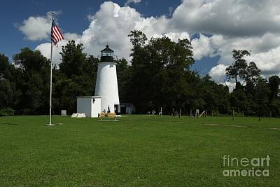 Photograph - Turkey Point Lighthouse by Donald C Morgan