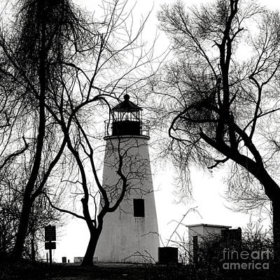 Chesapeake Bay Photograph - Turkey Point Lighthouse by Olivier Le Queinec