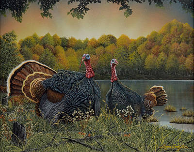 Painting - Turkey Season by Don Engler