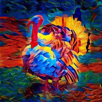 Digital Art - Turkey Sensation by Anne Sands