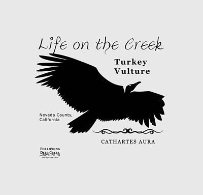 Digital Art - Turkey Vulture by Lisa Redfern